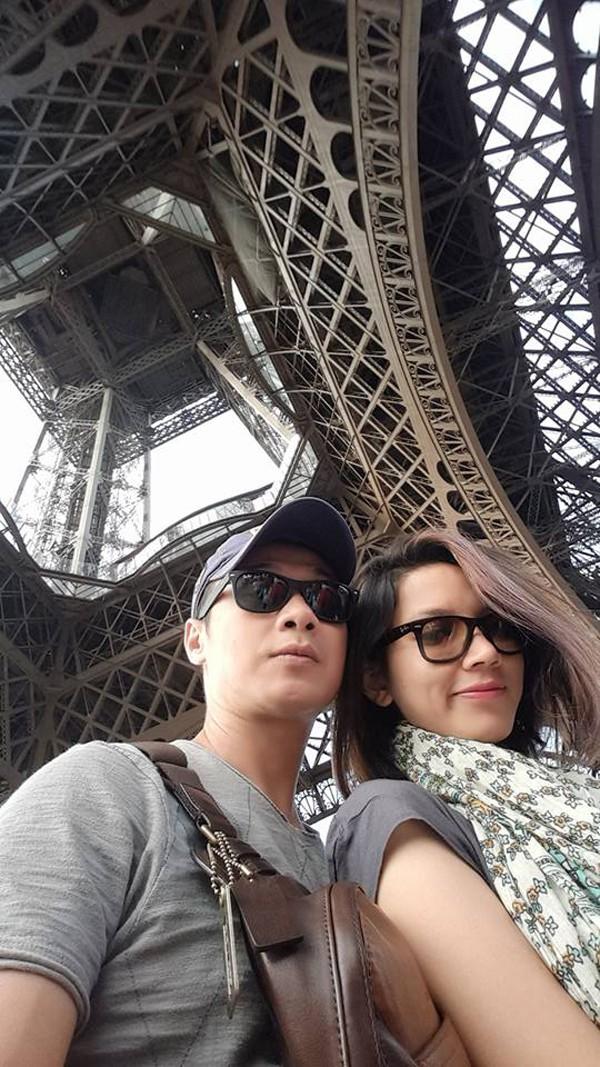 MC Anh Tuấn thường đưa vợ đi du lịch khắp nơi trên thế giới.