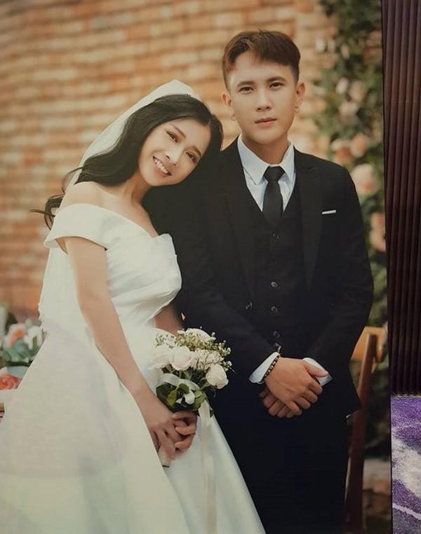 Ảnh cưới của Phương Anh và rapper Dico-GB.