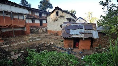 Những túp lều dành cho phụ nữ đến kỳ kinh nguyệt vẫn tồn tại ở nhiều vùng nông thôn Nepal.