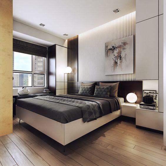 Phòng ngủ master của 2 vợ chồng.