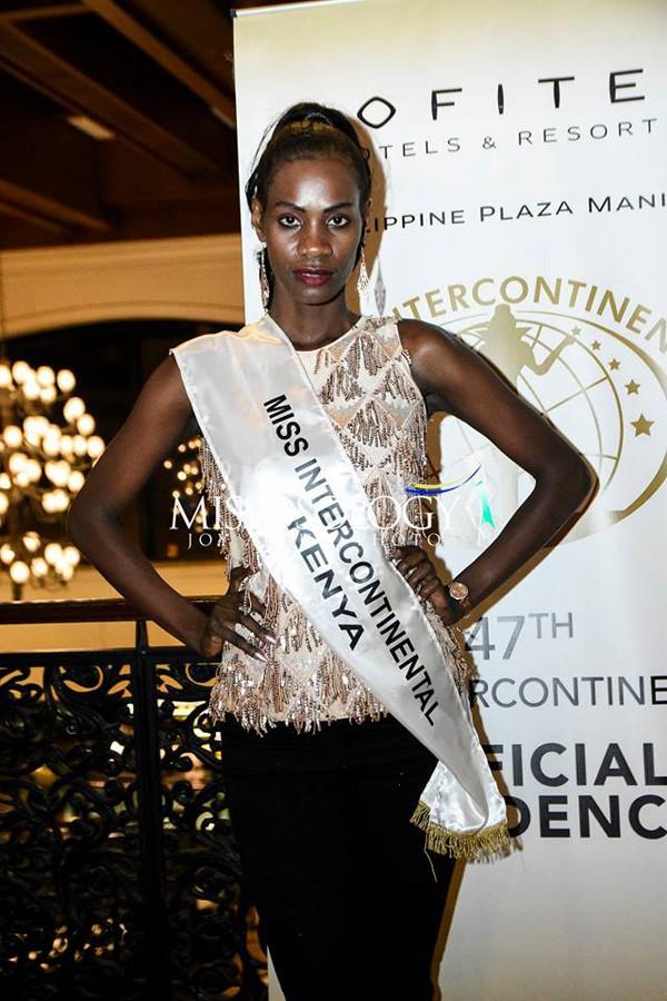 Dù có thân hình rắn chắc nhưng đại diện Kenya lại mất điểm bởi gương mặt cứng nhắc.
