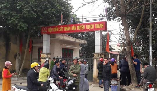 Viện kiểm sát nhân dân huyện Thạch Thành, nơi phát hiện ông Hưng chết trong tư thế treo cổ