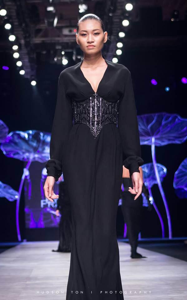 Kim Anh thời còn đi làm người mẫu.