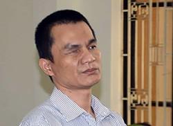 Bị cáo Kim Thành Hưng tại phiên toà. Ảnh: Công an Trà Vinh.
