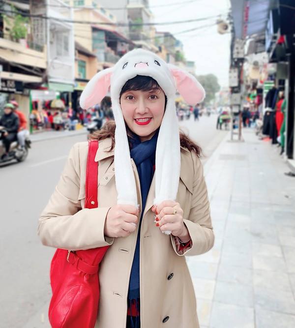 Vân Dung chia sẻ hình ảnh hạnh phúc mới đây của cô.