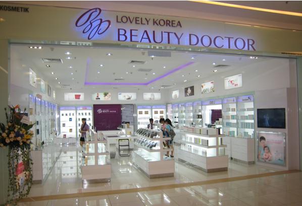 Hệ thống cửa hàng của Beauty Doctor tại Incheon, Hàn Quốc