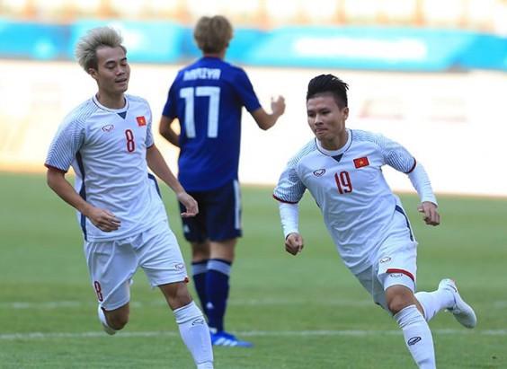 Quang Hải và đồng đội từng thắng Nhật Bản ở Asiad 2018, nhưng thầy Park cho rằng, điều đó không mang nhiều ý nghĩa, vì lần này là đối đầu với ĐTQG Nhật