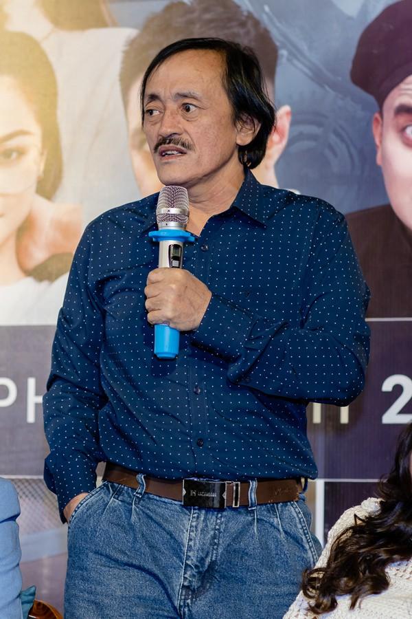 Tâm sự của nghệ sĩ Giang còi trong buổi họp báo vào chiều 22/1.