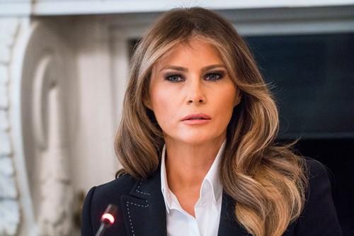 Đệ nhất phu nhân Mỹ Melania Trump. Ảnh: NY Times.