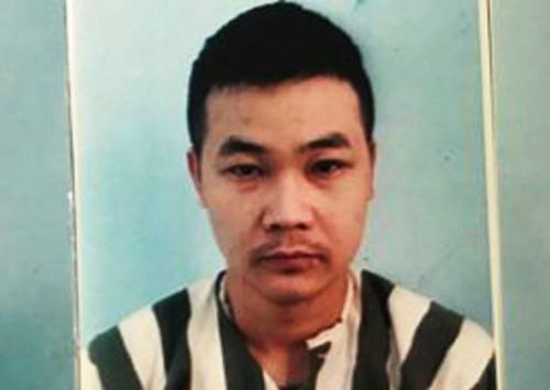 Nguyễn Quang Trường tại cơ quan công an. Ảnh: C.A.