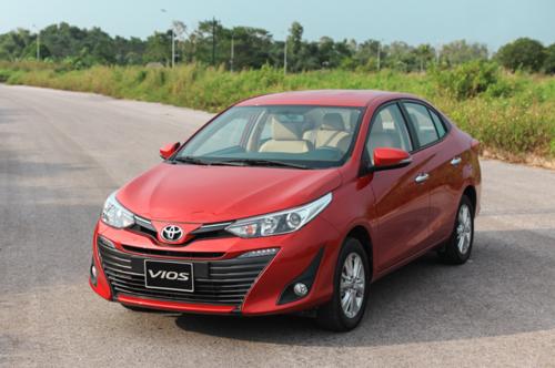 Toyota Vios 2018 tại Việt Nam. Ảnh: Đức Huy.