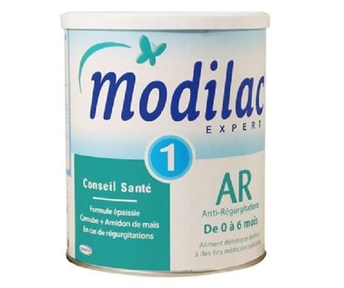 Modilac Expert AR 1 ở hai lô 11809217 và 149809517 là sản phẩm bị cảnh báo