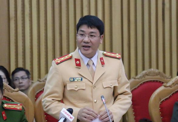 Ông Đỗ Thanh Bình - phó cục trưởng Cục CSGT - BCA. Ảnh: TT