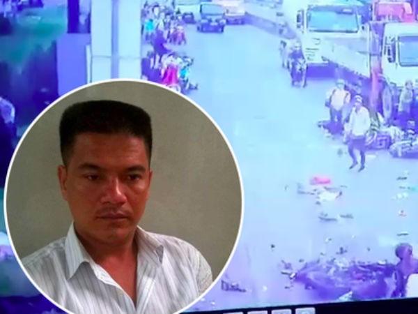 Tài xế Hiếu được xác định dùng ma túy trước khi gây ra vụ tai nạn giao thông thảm khốc tại Long An. Ảnh: TL