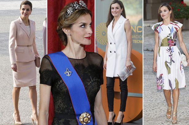 Hoàng hậu Tây Ban Nha nổi tiếng với gu thời trang thanh lịch, nhã nhặn.