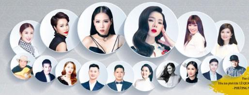 Ở 1 poster khác, Phương Thanh được xếp nhỏ ngang hành cùng Uyên Linh.