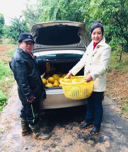 Dù có người hỗ trợ, NSƯT Chiều Xuân và nhạc sĩ Đỗ Hồng Quân vẫn không quản mưa nắng, xắn tay áo làm nông dân, thỉnh thoảng nán lại Sơn Tây 1-2 tuần để tiện chăm sóc khu vườn.