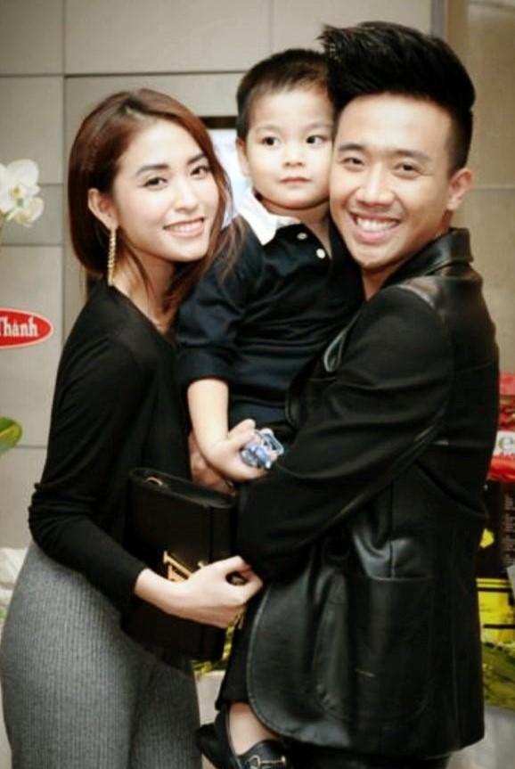 Trấn Thành từng khiến cả showbiz ngưỡng mộ khi chăm sóc con trai riêng của cô như con ruột