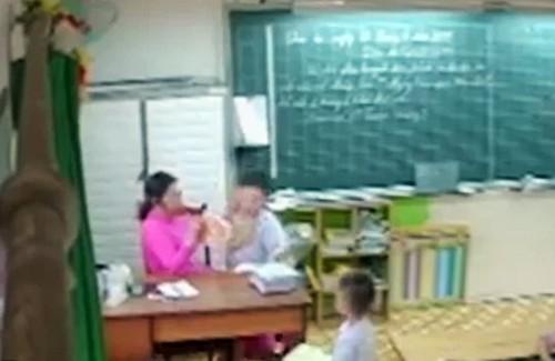 TP HCM yêu cầu xử lý vụ cô giáo đánh học sinh  - Ảnh 1.