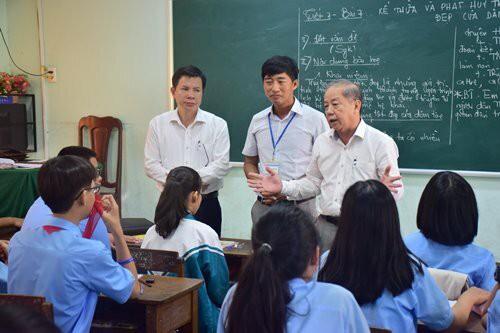 Chủ tịch tỉnh dự giờ lớp học  - Ảnh 2.