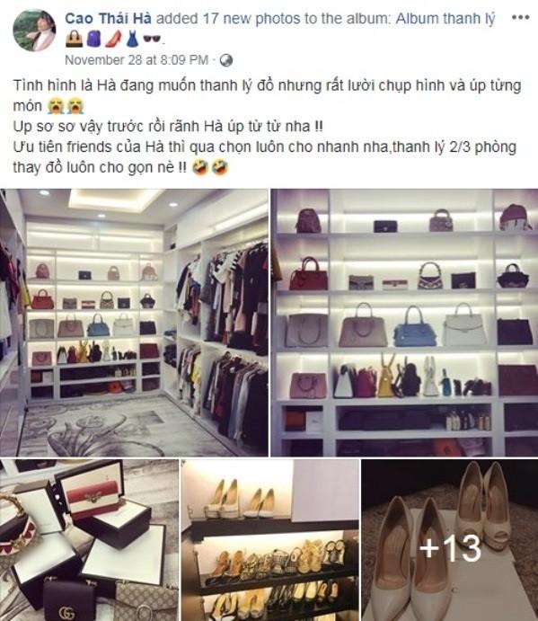 Mỹ nhân Việt khiến dư luận ngỡ ngàng với lý do khi rao bán hàng hiệu với giá trị gây sốc - Ảnh 14.