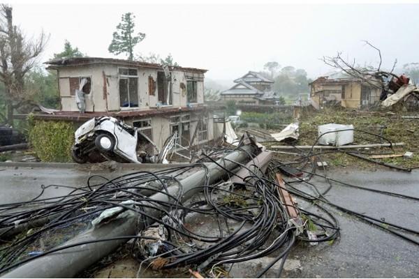Siêu bão châu Á Hagibis mạnh nhất thế kỷ xé tan nát nhà cửa, phá hủy xe sang và cuốn trôi người - Ảnh 3.