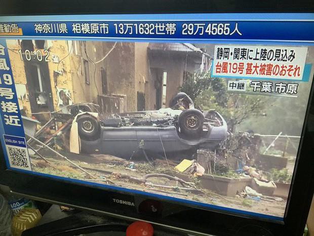 Siêu bão châu Á Hagibis mạnh nhất thế kỷ xé tan nát nhà cửa, phá hủy xe sang và cuốn trôi người - Ảnh 6.