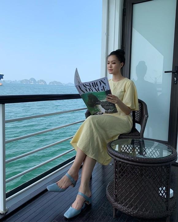 Cuộc sống kín tiếng trên đất Mỹ của Hoa hậu Thùy Dung - Ảnh 1.