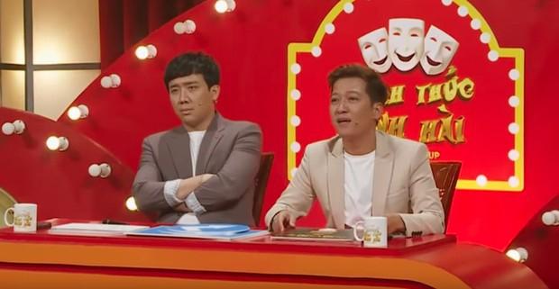 Trấn Thành sợ bị tát lần nữa bởi một thí sinh khác của Thách thức danh hài - Ảnh 3.