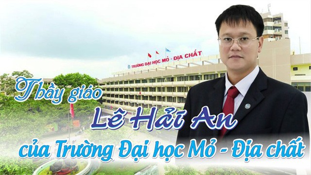 Trường ĐH Mỏ - Địa chất tổ chức Lễ tưởng nhớ Thứ trưởng Lê Hải An - Ảnh 1.