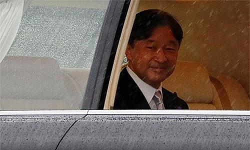 Nhật hoàng đăng quang hôm nay  - Ảnh 1.