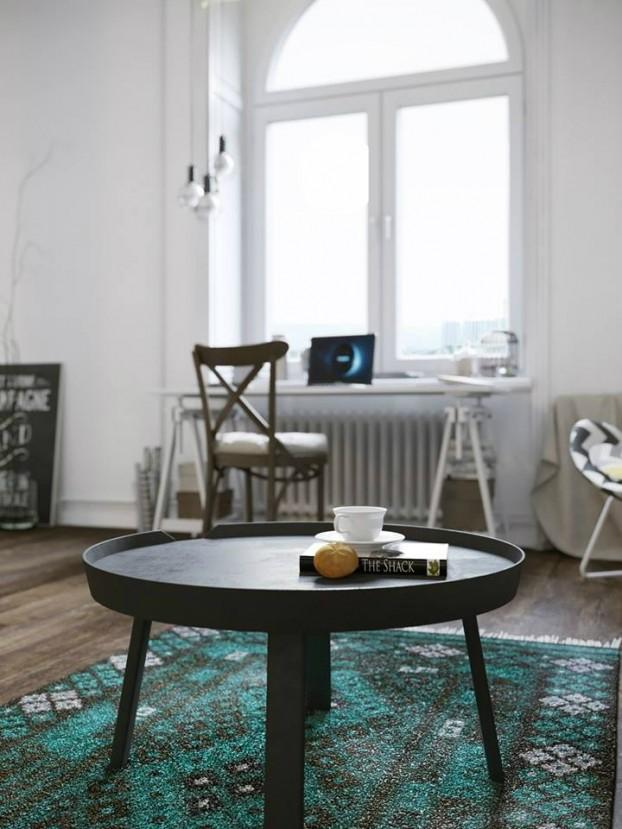 Căn hộ 25m² chuẩn phong cách Scandinavia sử dụng màu vàng táo bạo - Ảnh 14.