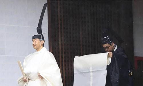 Nhật hoàng đăng quang hôm nay  - Ảnh 3.