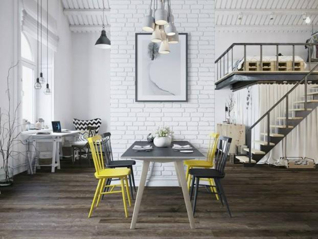 Căn hộ 25m² chuẩn phong cách Scandinavia sử dụng màu vàng táo bạo - Ảnh 3.