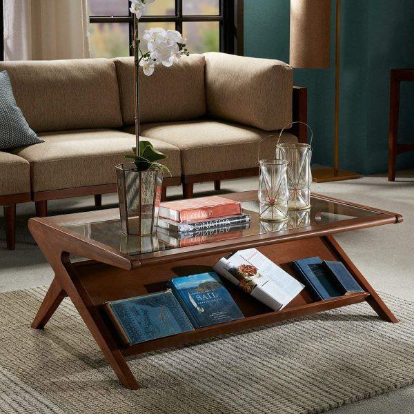 Mẫu bàn phòng khách vừa đẹp vừa tiện dụng - Ảnh 5.