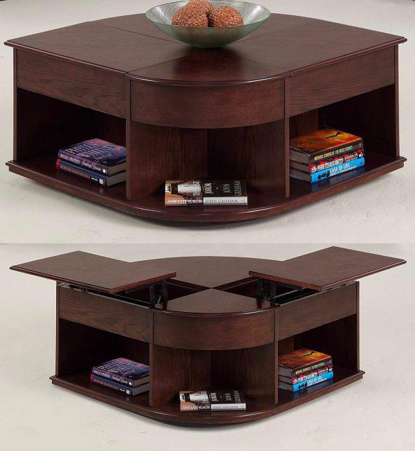 Mẫu bàn phòng khách vừa đẹp vừa tiện dụng - Ảnh 7.