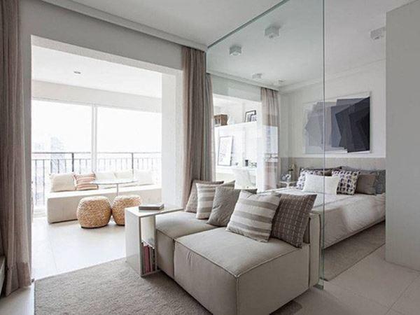 Tuyệt chiêu giúp căn hộ 35 m2 sang trọng như rộng gấp đôi - Ảnh 2.