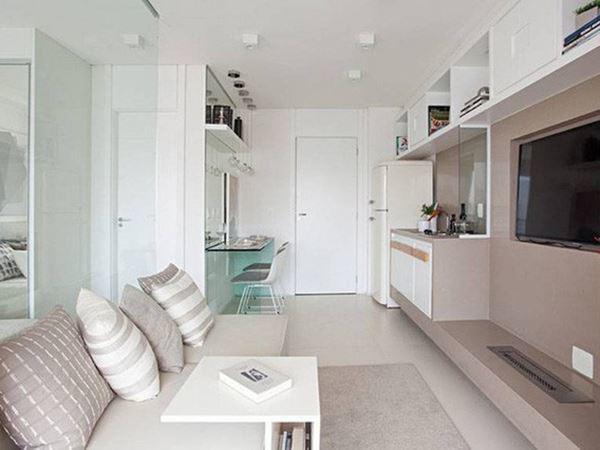Tuyệt chiêu giúp căn hộ 35 m2 sang trọng như rộng gấp đôi - Ảnh 3.