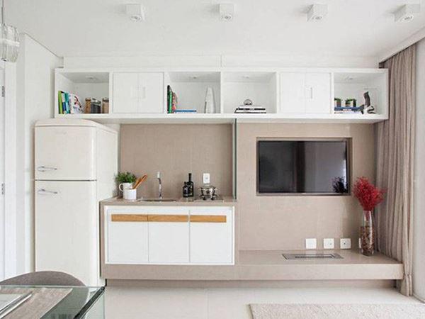 Tuyệt chiêu giúp căn hộ 35 m2 sang trọng như rộng gấp đôi - Ảnh 4.