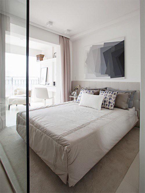 Tuyệt chiêu giúp căn hộ 35 m2 sang trọng như rộng gấp đôi - Ảnh 6.