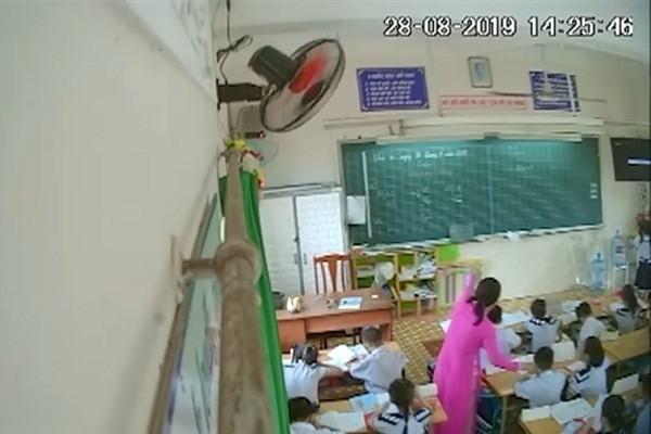 Bí mật gắn camera, phụ huynh phát hiện cô giáo liên tục đánh mắng học sinh - Ảnh 1.