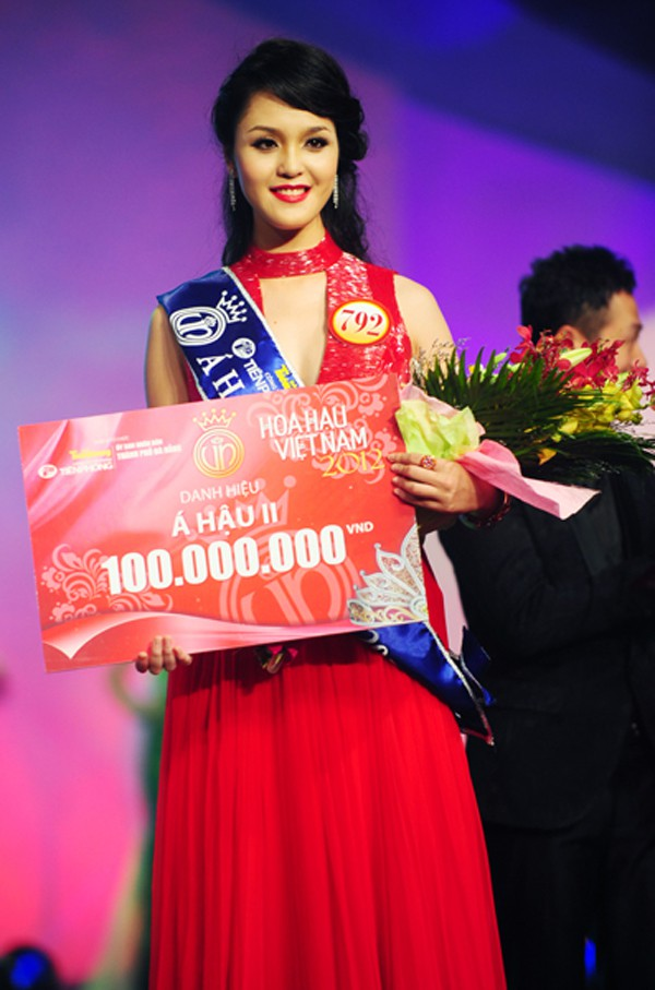 3 Á hậu 9X của Hoa hậu Việt Nam sống thế nào từ khi lấy chồng đại gia? - Ảnh 1.
