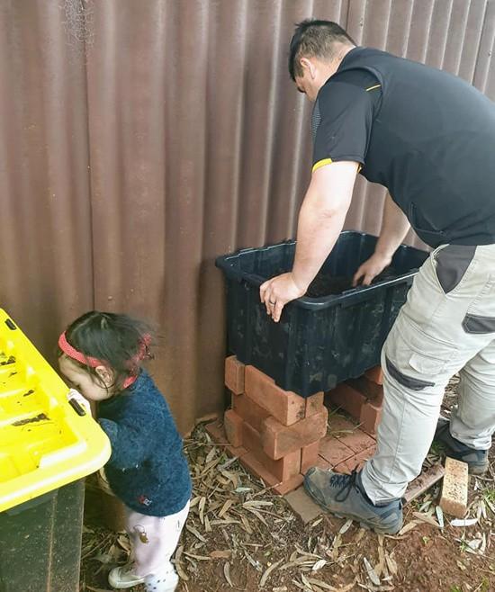 Rau khổng lồ trong khu vườn Việt ở Australia  - Ảnh 3.