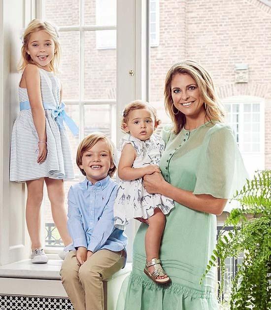 Quốc vương Thụy Điển rút tước hiệu hoàng tộc của 5 cháu - Ảnh 1.