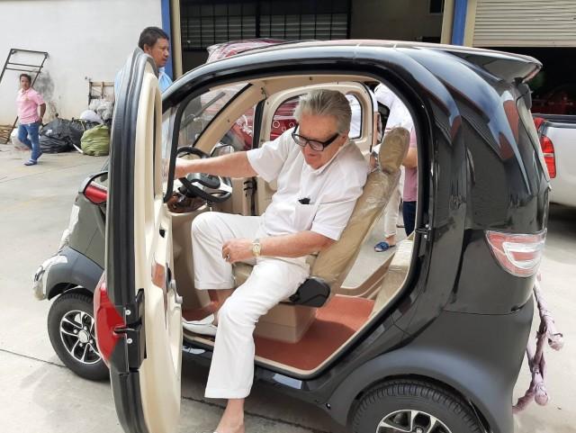 """Xe ô tô chạy bằng điện có giá 75 triệu đồng của Thái đang """"hot"""" nhất MXH - Ảnh 9."""
