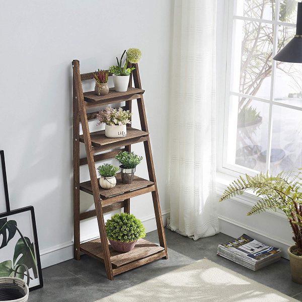 Kệ lưu trữ hình thang độc đáo cực kì thích hợp với những căn hộ có diện tích nhỏ - Ảnh 1.