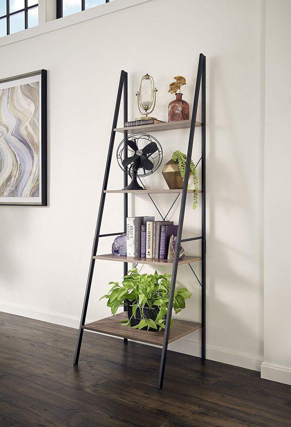 Kệ lưu trữ hình thang độc đáo cực kì thích hợp với những căn hộ có diện tích nhỏ - Ảnh 2.