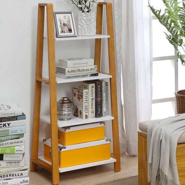 Kệ lưu trữ hình thang độc đáo cực kì thích hợp với những căn hộ có diện tích nhỏ - Ảnh 3.