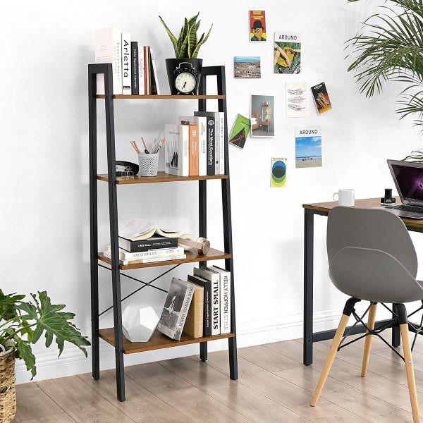 Kệ lưu trữ hình thang độc đáo cực kì thích hợp với những căn hộ có diện tích nhỏ - Ảnh 4.