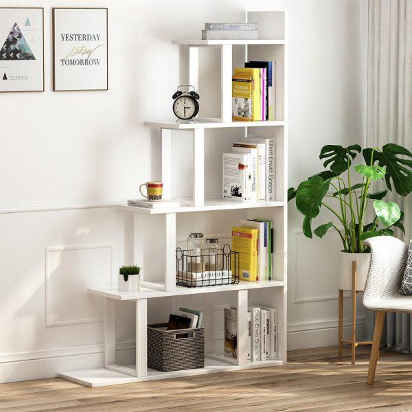 Kệ lưu trữ hình thang độc đáo cực kì thích hợp với những căn hộ có diện tích nhỏ - Ảnh 9.
